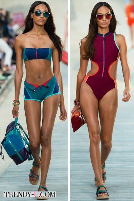 Модные купальники Tommy Hilfiger SS 2014