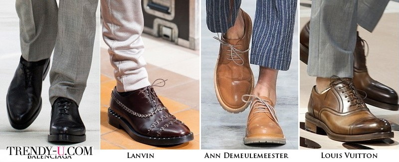 Модная мужская обувь весна-лето 2014