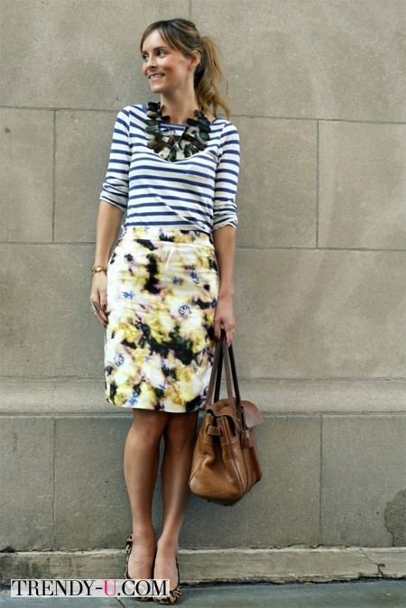Тельняшка и юбка