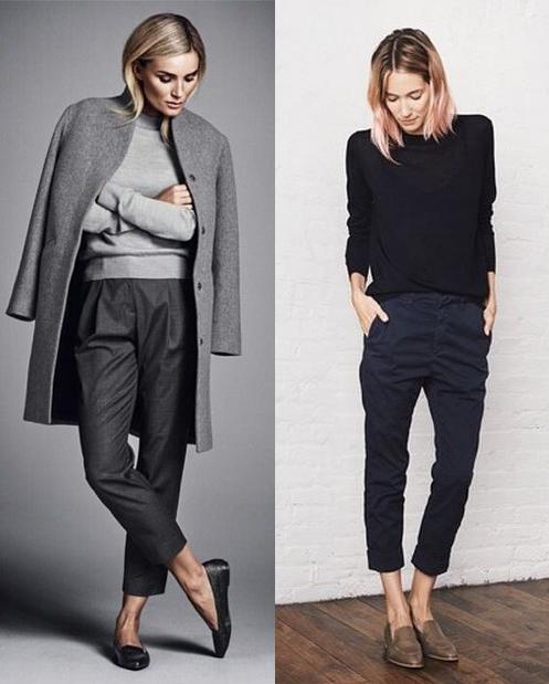 Модницы выбирают чиносы