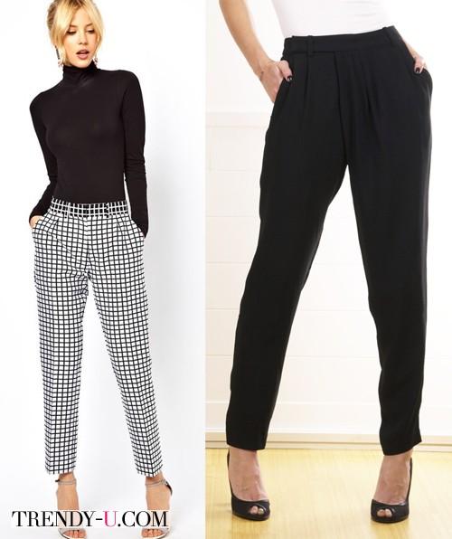Модные брюки для офиса