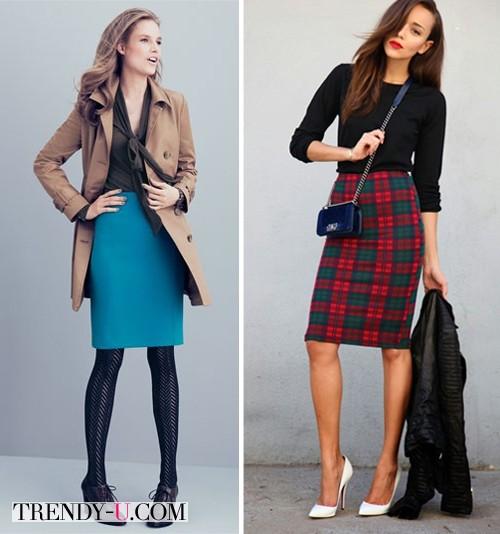 Юбки и блузки для работы