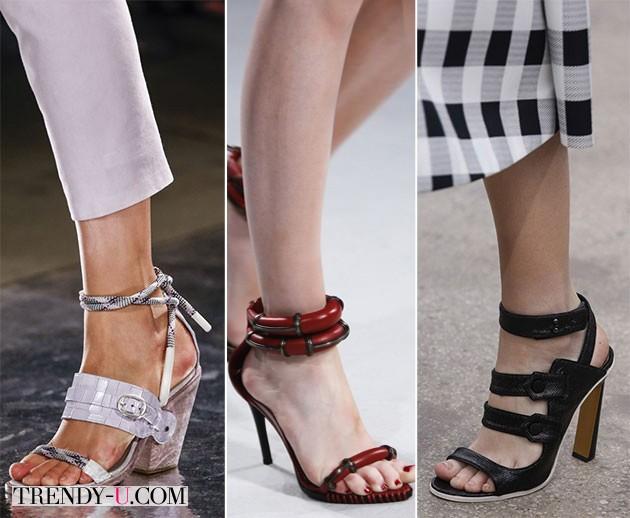 Стильная обувь весна-лето 2014