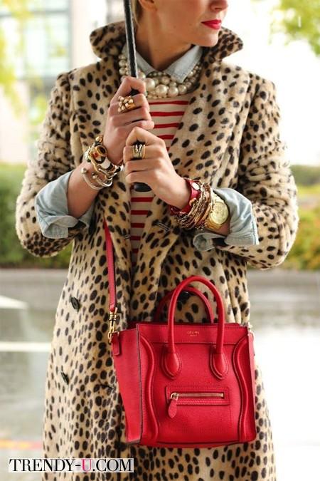 Вот так нельзя носить одежду с леопардовым принтом