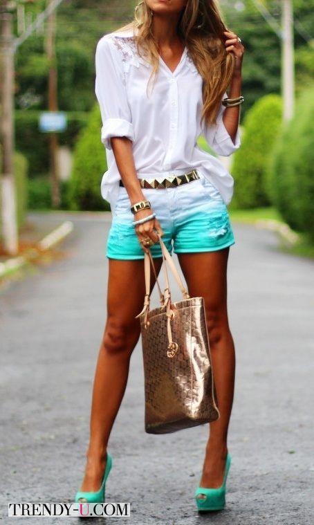 Вот так носите шорты летом!