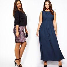 Модные платья для полных женщин 40-50 лет - как правильно выбирать и где купить