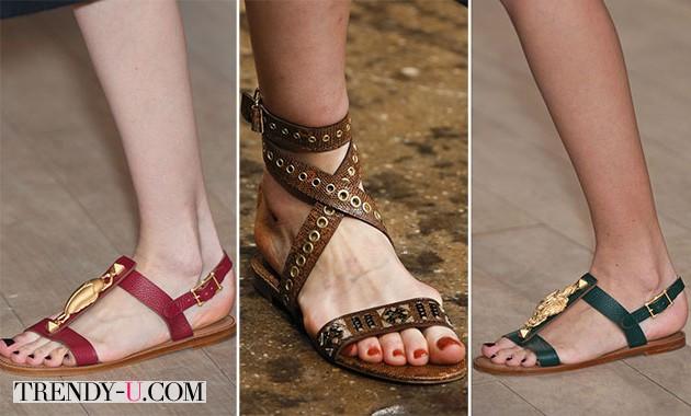 Модные сандалии для лета 2014