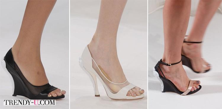 Стильная обувь для лета от Nina Ricci SS 2014