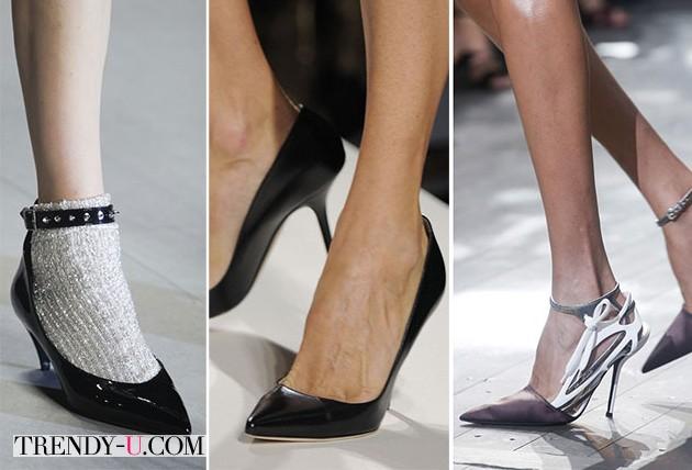 Классические туфли весна-лето 2014