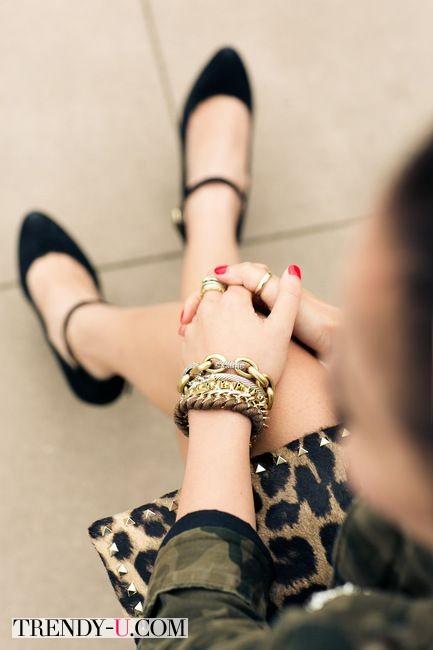 Клатч с леопардовым принтом - это Must!