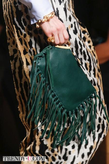 Широкие брюки с леопардовым принтом