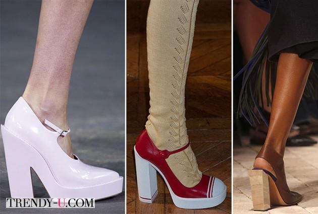 Стильные туфли для весны 2014 от Christopher Kane SS 2014