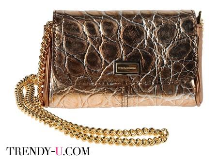 Золотистая сумка Dolce&Gabbana SS 2014