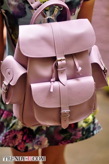 Рюкзак цвета розовый кварц