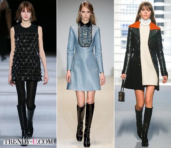 Модная одежда в стиле 60-х