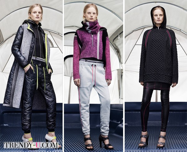 Модная одежда в спортивном стиле 2014-2015
