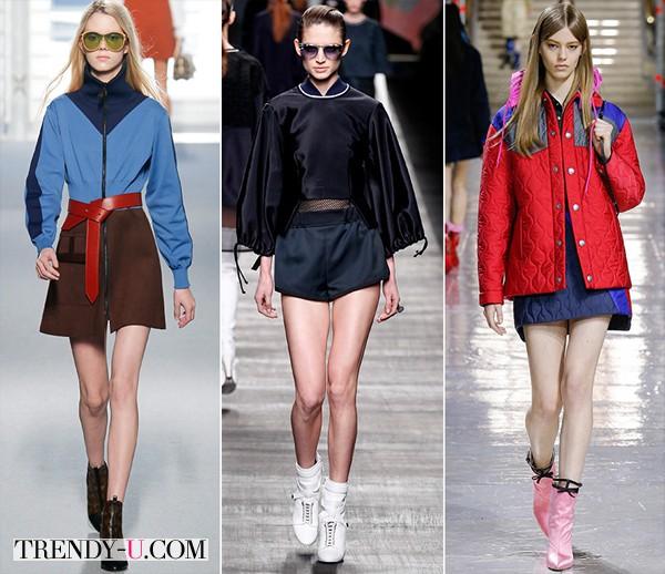 Модная спортивная одежда осень-зима 2014-2015