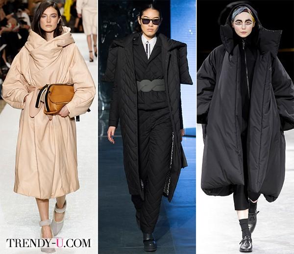 Модные зимние пальто и пуховики осень-зима 2014-2015