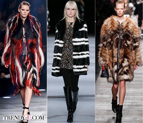 Модные шубы осень-зима 2014-2015