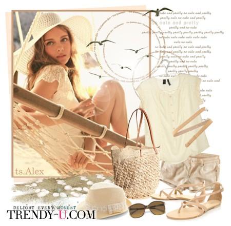 Плетеная сумка: с чем носить?
