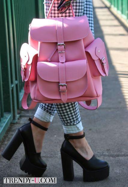 Вот так вот. Рюкзак цвета розовый кварц