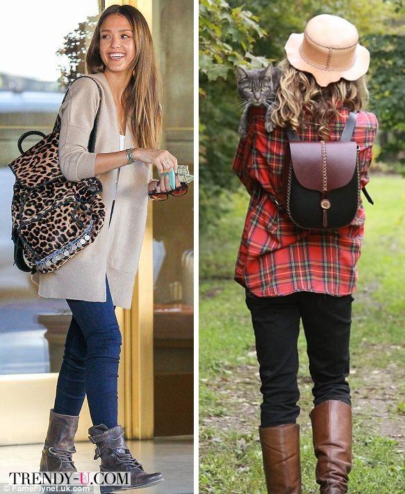 Рюкзак с леопардовым принтом и еще один