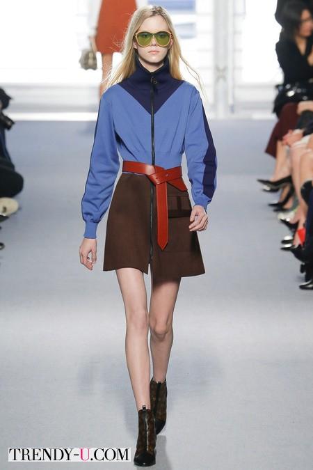 Стильное платье от Louis Vuitton осень-зима 2014-2015