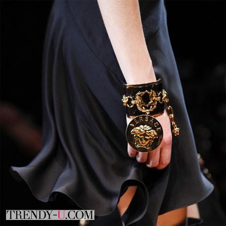 Браслет Versace осень-зима 2014-2015