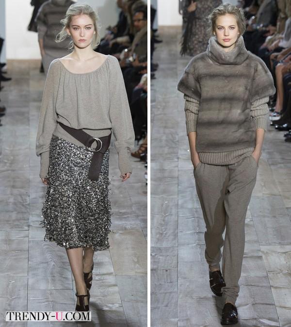 Модная одежда осень-зима 2014-2015 от Michael Kors