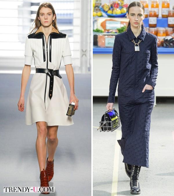 Модная одежда нейтральных цветов из коллекции осень-зима 2014-2015
