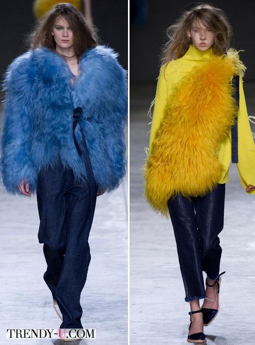 Модная одежда из денима осень-зима 2014-2015