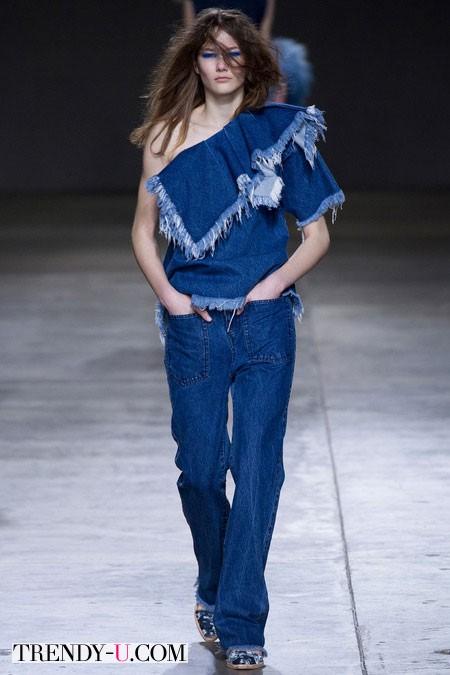 Модные джинсы и топ для осени и зимы 2014-2015