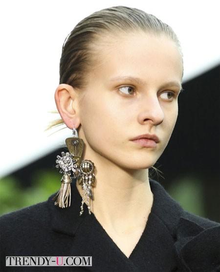 Модная серьга Celine осень-зима 2014-2015