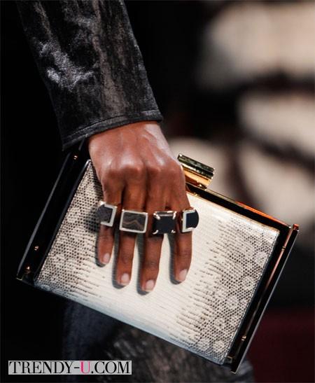 Модные кольца от Nina Ricci осень-зима 2014-2015