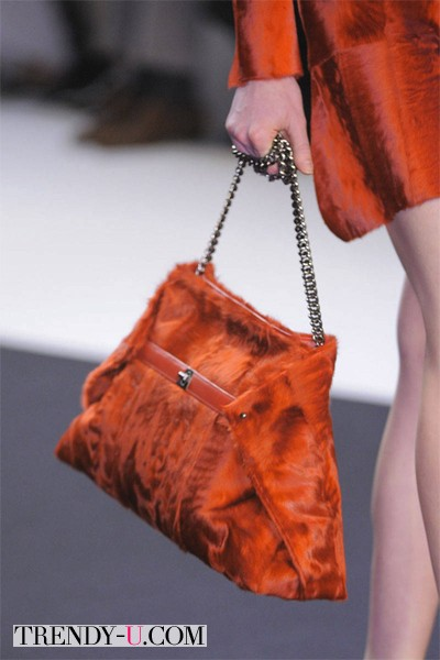 Модная меховая сумка от Аkris 2014-2015