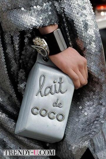 Стильная сумка от Chanel осень-зима 2014-2015