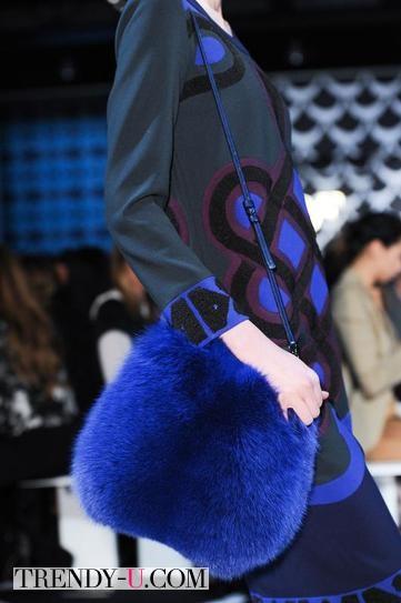 Сумка Diane von Furstenberg осень-зима 2014-2015