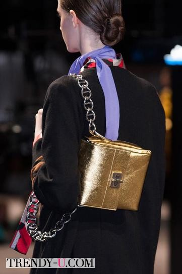 Модная сумка Прада осень-зима 2014-2015