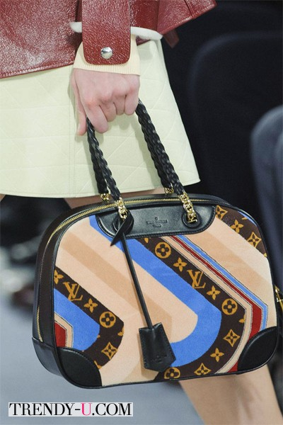 Louis Vuitton сумка с принтом 2014-2015