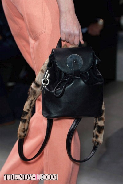 Стильный рюкзак от Аcne осень-зима 2014-2015