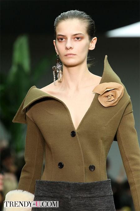 Модные серьги Celine осень-зима 2014-2015