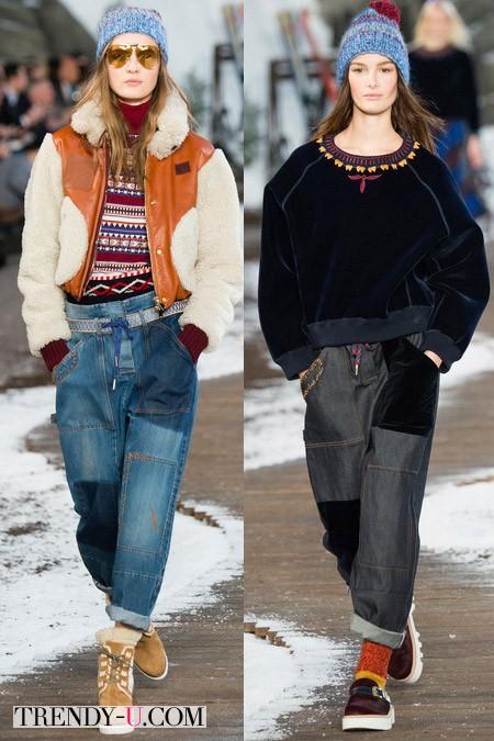 Модные джинсы от Tom Hilfiger осень-зима 2014-2015