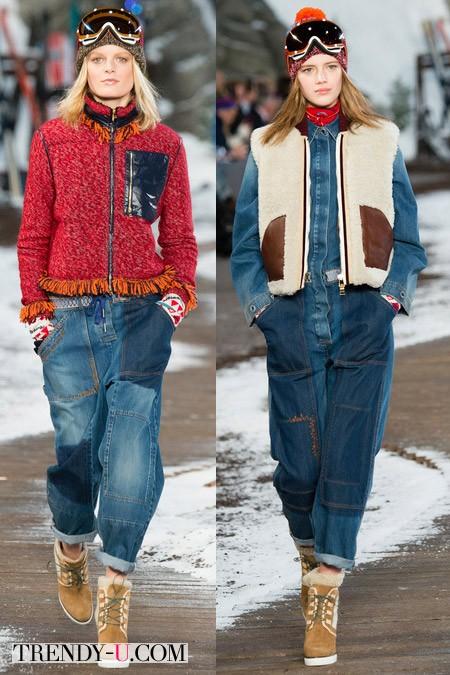 Модные джинсы Tom Hilfiger осень-зима 2014-2015
