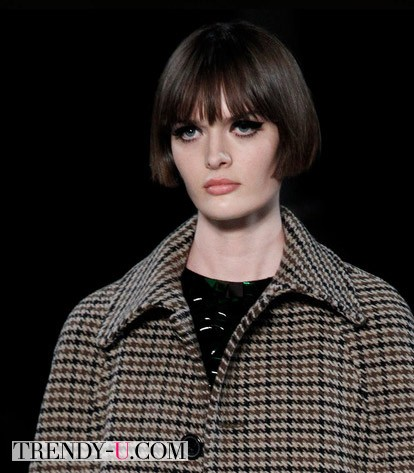 Модные стрижки осень-зима 2014-2015 от Saint Laurent