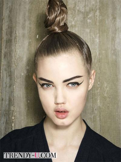 Модный пучок осень-зима 2014-2015 Jean Paul Gaultier