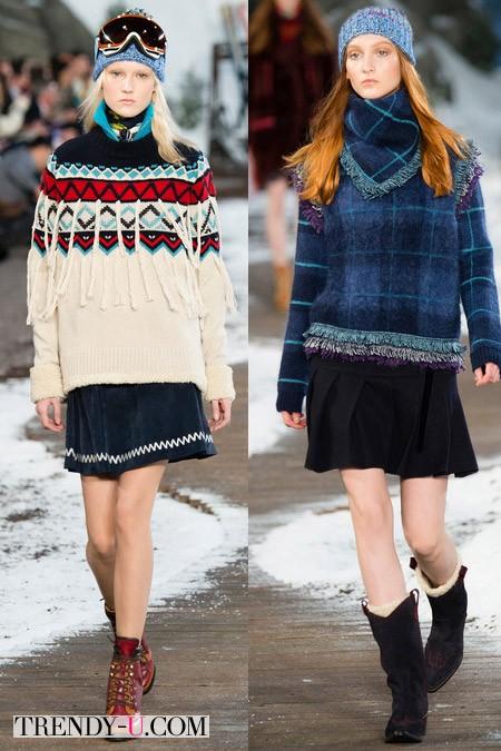 Модные юбки от Tommy Hilfiger осень-зима 2014-2015