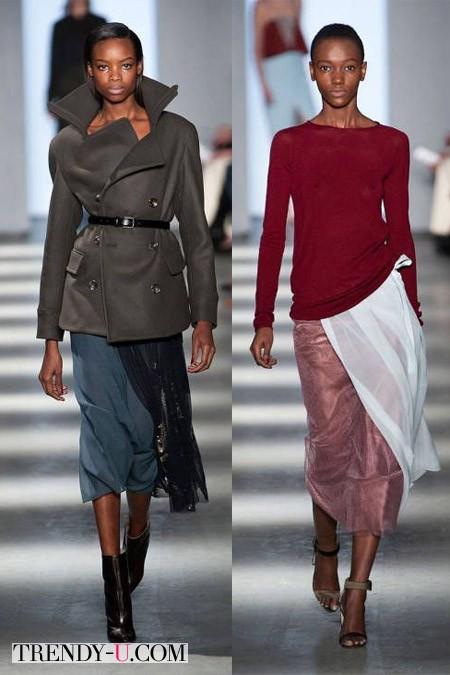 Стильные юбки осень-зима 2014-2015