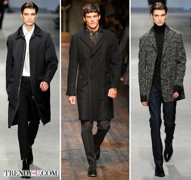 Модная мужская одежда осень-зима 2014-2015