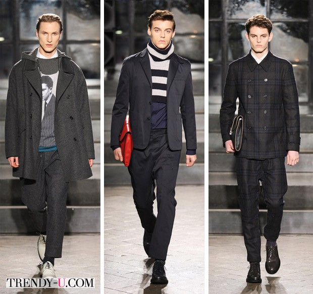 Модные цвета мужской одежды осень-зима 2014-2015