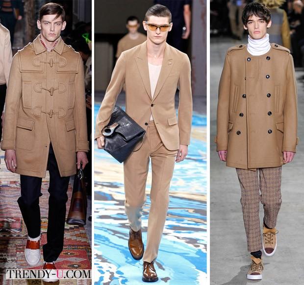 Модный цвет осень-зима 2014-2015 мужчины